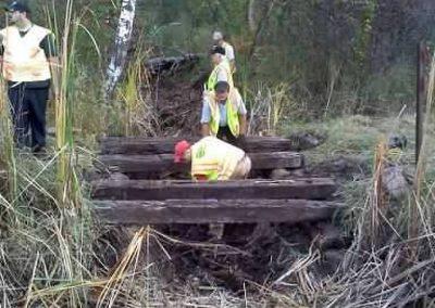 Pine St bridge rebuild